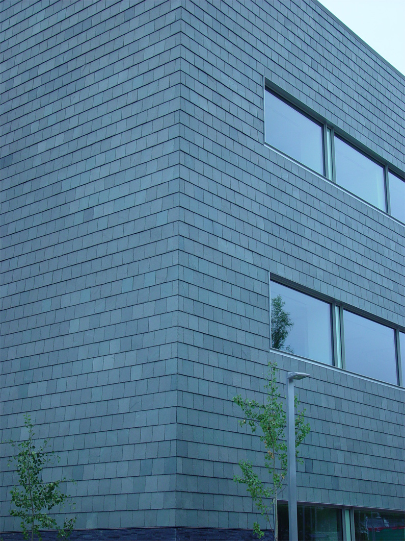Slate Cladding University Of Alaska Integrated Science