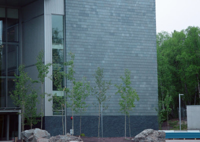Slate Cladding for University of Alaska Integrated Science Building