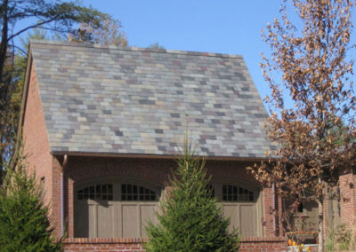Historical Slate Color Blend on New Construction in Ashville, NC