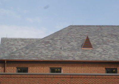 Slate roof on Alabama municipal complex