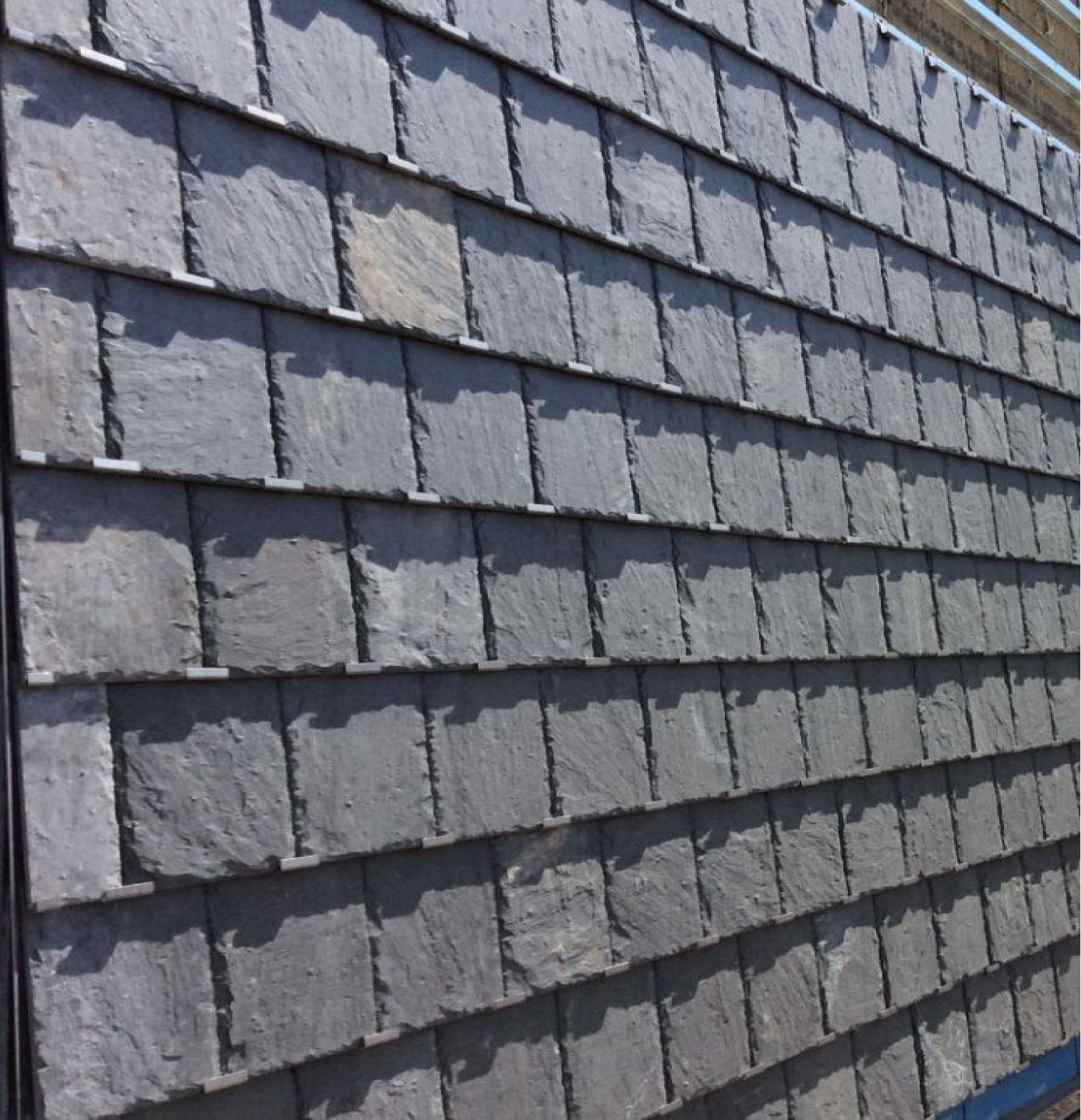 Close Up of Slate Cladding at Mount Hood Medical Center