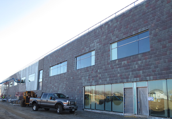 Nu-Lok Slate Cladding on medical facility