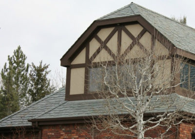 Cedar Shake Replacement Using Genuine Vermont Slate and SlateTec Installation