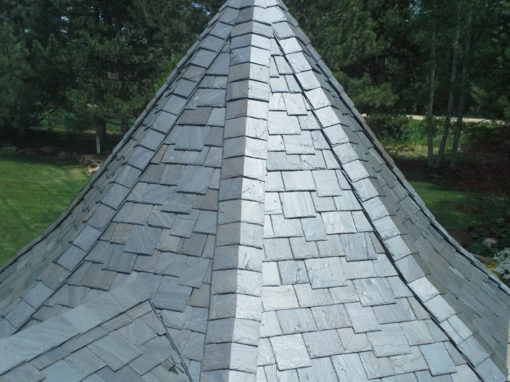SlateTec System for Cedar Shake Roof Replacement