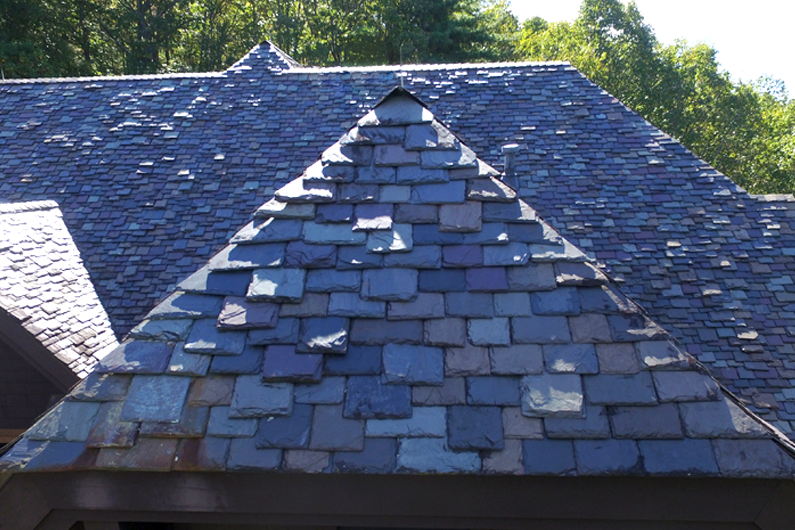 Slate Roof - Historical Country Cottage
