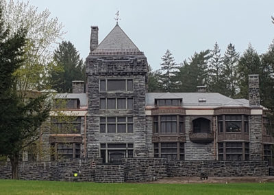 Greenstone Vermont slate adorns roof of national historic landmark